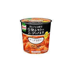 〔まとめ買い〕味の素 クノール スープDELI 完熟トマトのスープパスタ 41.9g×24カップ(6カップ×4ケース)|funnyfunny