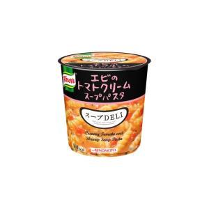 〔まとめ買い〕味の素 クノール スープDELI エビのトマトクリームパスタ 41.2g×24カップ(6カップ×4ケース)|funnyfunny