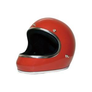 ダムトラックス(DAMMTRAX) ヘルメット AKIRA レッド M|funnyfunny