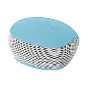 エレコム Bluetoothモノラルスピーカー/スマートフォン用/コンパクト/ブルー LBT-SPP20BU|funnyfunny