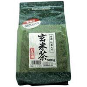 (業務用20セット)国太楼 国太楼 たっぷり抹茶入 玄米茶 500g|funnyfunny