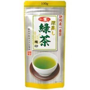 (業務用20セット)朝日茶業 牧の香り深蒸し緑茶800 亀 100g|funnyfunny