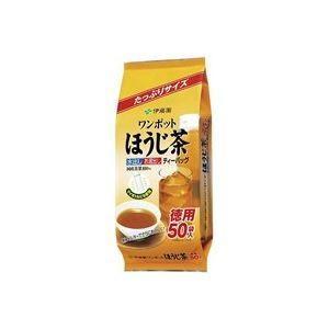 (業務用50セット)伊藤園 ワンポットほうじ茶ティーバッグ50袋|funnyfunny