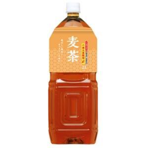 〔まとめ買い〕桂香園 麦茶 2L×60本(6本×10ケース)ペットボトル〔国内六条大麦を使用〕|funnyfunny