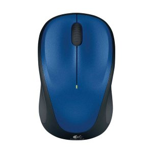 (まとめ) ロジクール Wireless Mouse ブルー M235RBL 1個 〔×2セット〕 funnyfunny
