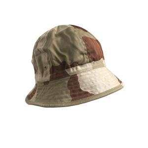 フランス軍放出 ブッシュハット/帽子 〔 59cm 〕 綿100% HH019NN CCEデザート 〔未使用/デッドストック〕 funnyfunny