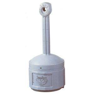 (業務用2セット)シースファイア スタンド灰皿 直径420mmx高さ980mm J26800 グレー(灰) 〔業務用/家庭用/屋外/ガーデン/庭〕|funnyfunny