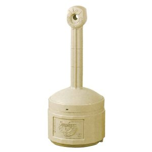 (業務用2セット)シースファイア スタンド灰皿 直径420mmx高さ980mm J26800B ベージュ 〔業務用/家庭用/屋外/ガーデン/庭〕|funnyfunny