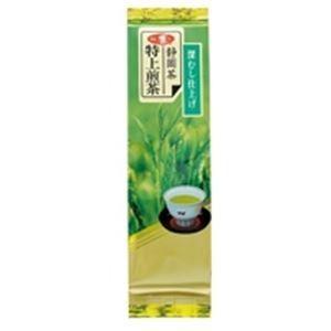 (業務用40セット) 朝日茶業 静岡特上級煎茶深蒸仕上げ 茶葉 100g|funnyfunny