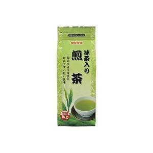 (業務用20セット) 朝日茶業 徳用抹茶入り煎茶 茶葉 1kg|funnyfunny