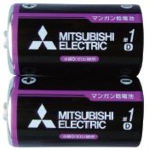 三菱 黒マンガン乾電池単1(2本入) 36-356 〔10個セット〕|funnyfunny