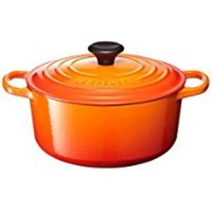 ル・クルーゼブランドの原点である鋳物ホーローウェア。鋳物ホーローは、熱伝導率がよく、料理をおいしく仕...
