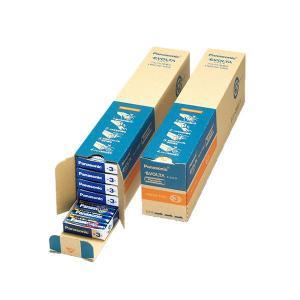 パナソニック アルカリ乾電池EVOLTA 単3形 業務用パック LR6EJN/100S 1セット(200本:100本×2箱)|funnyfunny