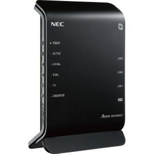 NECパーソナル Aterm WG1200HS3■商品スペック同時接続ユーザー数 推奨15台適用回線...