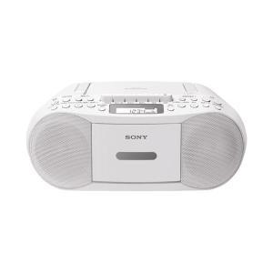 (まとめ)ソニー CDラジカセ CFD-S70 ホワイト〔×5セット〕|funnyfunny