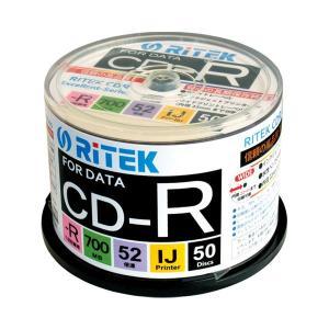 (まとめ)Ri-JAPAN データ用CD-R 50枚 CD-R700EXWP.50RT C〔×30セット〕|funnyfunny