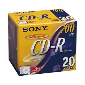 (まとめ)ソニー CD-R 20CDQ80DN 20枚〔×30セット〕|funnyfunny