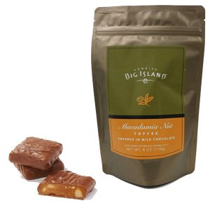 (ビッグアイランドキャンディーズ) ミルクチョコレート マカダミアナッツ トフィー 169g|funsense