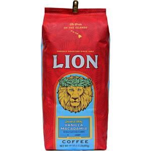 コーヒー フレーバー ライオンコーヒー バニラマカダミア 680g 粉 豆|funsense