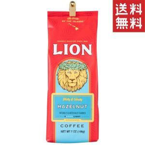 (ハワイコーヒーカンパニー) ライオン・ハワイアンヘーゼルナッツ 198g (粉)