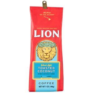 コーヒー フレーバー ライオンコーヒー トーステッドココナッツ 198g 粉|funsense