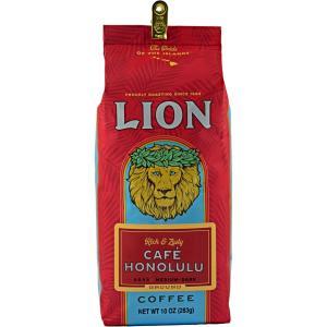 コーヒー ノンフレーバー ライオンコーヒー カフェホノルル 283g 粉 豆|funsense