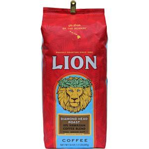 コーヒー ノンフレーバー ライオンコーヒー ダイヤモンドヘッドロースト 680g 豆|funsense