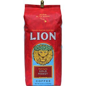 コーヒー ノンフレーバー ライオンコーヒー ゴールドロースト 680g 粉 豆|funsense