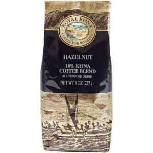 コーヒー フレーバー ロイヤルコナ ヘーゼルナッツ 227g 粉|funsense
