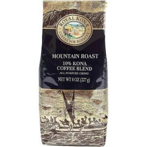 コーヒー ノンフレーバー ロイヤルコナ マウンテンロースト 227g 粉|funsense
