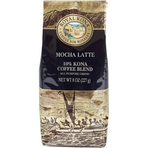 コーヒー フレーバー ロイヤルコナ モカラテ 227g 粉|funsense