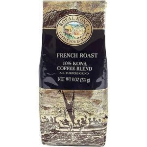 コーヒー ノンフレーバー ロイヤルコナ フレンチロースト 227g 粉|funsense