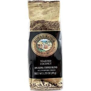 コーヒー フレーバー ロイヤルコナ トーステッドココナッツ ミニサイズ 49g 粉|funsense