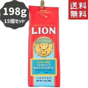 コーヒー フレーバー ライオンコーヒー バニラマカダミア 198g×15パック 粉|funsense