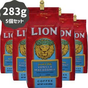 コーヒー フレーバー ライオンコーヒー 人気5種セット 各283g×5パック 粉|funsense