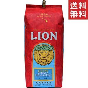 コーヒー フレーバー ライオンコーヒー バニラマカダミア 680g 豆|funsense