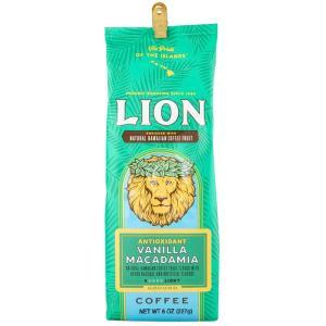 コーヒー アンチオキシダント ライオンコーヒー バニラマカダミア 227g 粉|funsense