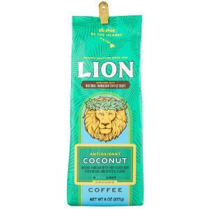 コーヒー アンチオキシダント ライオンコーヒー ココナッツ 227g 粉|funsense