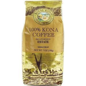 コーヒー ノンフレーバー ロイヤルコナ エステート 198g 豆|funsense