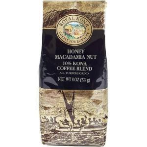 コーヒー フレーバー ロイヤルコナ ハニーマカダミア 227g 粉|funsense