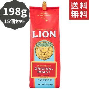 コーヒー ノンフレーバー ライオンコーヒー オリジナル 198g×15パック 粉|funsense