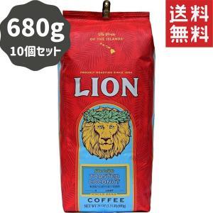 コーヒー フレーバー ライオンコーヒー トーステッドココナッツ 680g×10パック 豆|funsense