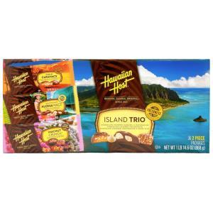 マカダミアナッツ チョコ ハワイアンホースト アイランドトリオ 詰め合わせ 36個|funsense