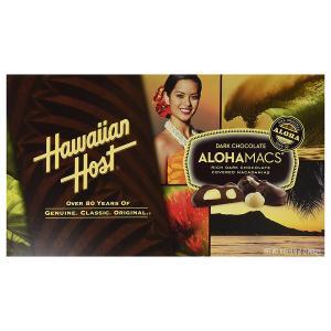 マカダミアナッツ チョコ ハワイアンホースト アロハマックス ダークチョコレート 170g|funsense