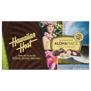 マカダミアナッツ チョコ ハワイアンホースト アロハマックス ミルクチョコレート 198g|funsense