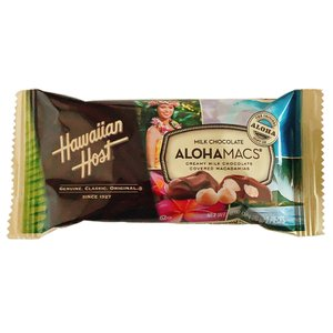 マカダミアナッツ チョコ ハワイアンホースト アロハマックス ミルクチョコレート 24g|funsense