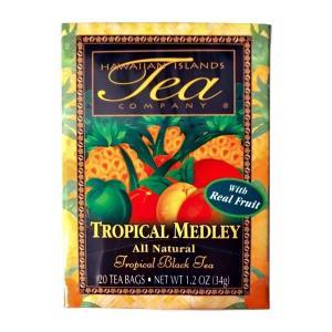紅茶 フレーバー ハワイ アイランド ティー カンパニー トロピカル メドレー 1.7g×20袋|funsense