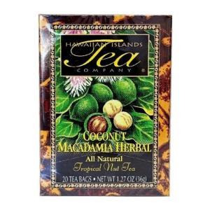 紅茶 フレーバー ハワイ アイランド ティー カンパニー ココナッツ マカダミア ルイボス 1.8g×20袋|funsense