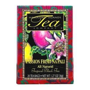 紅茶 フレーバー ハワイ アイランド ティー カンパニー パッションフルーツ ナ パリ 1.8g×20袋|funsense