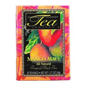 紅茶 フレーバー ハワイ アイランド ティー カンパニー マンゴー マウイ 1.8g×20袋|funsense